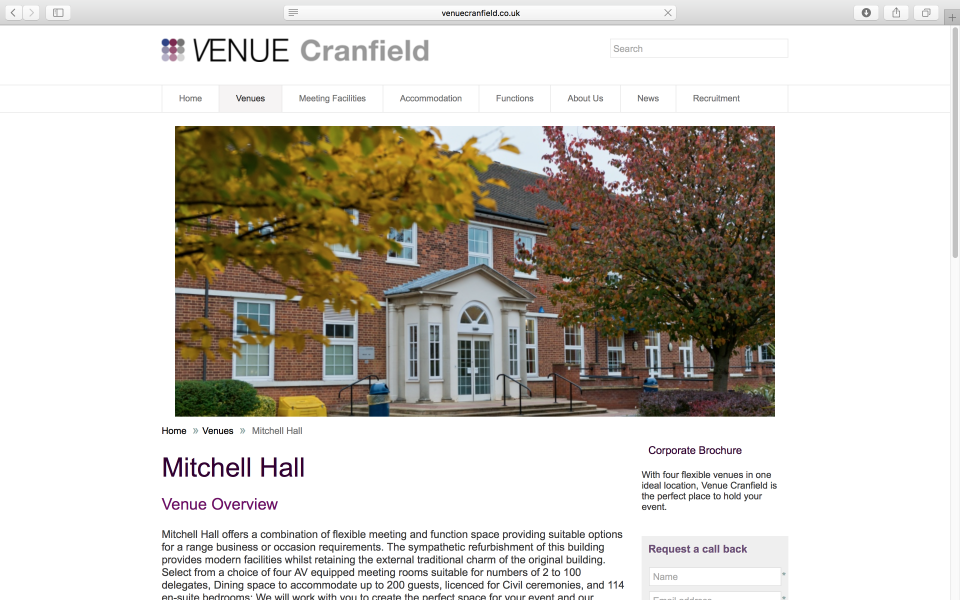 http://www.venuecranfield.co.uk/venues/mitchell-hall.aspx